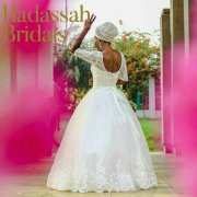 Lace Sleeve Ball Wedding Gown