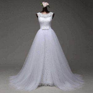 DETACHABLE TAIL MERMAID WEDDING GOWN