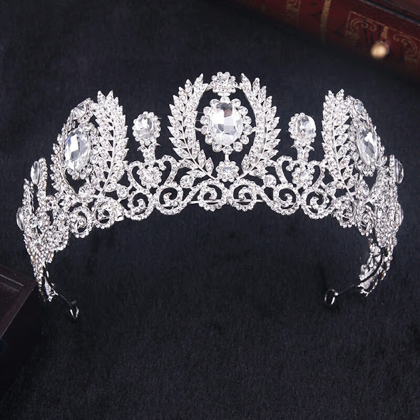 Crystal Diadem Bridal Tiara For Brides