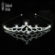 Rhinestone Little Bride's Tiara Crown