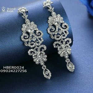 Royal Dropping Bridal Earrings
