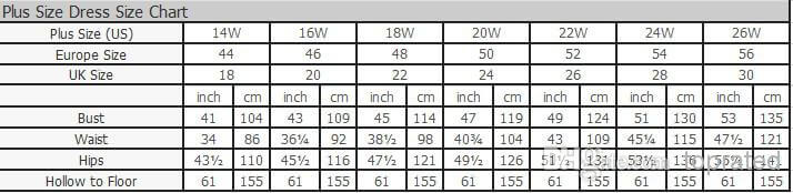 Find Below Size Charts For Women S Dress To Guide You Can Use This As A Before Choosing Your Wedding Gown Based On Standard Uk Eu Or Us Sizes