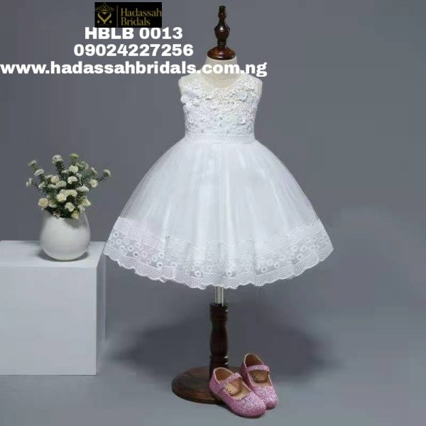 Off-white Flower Girl Dress