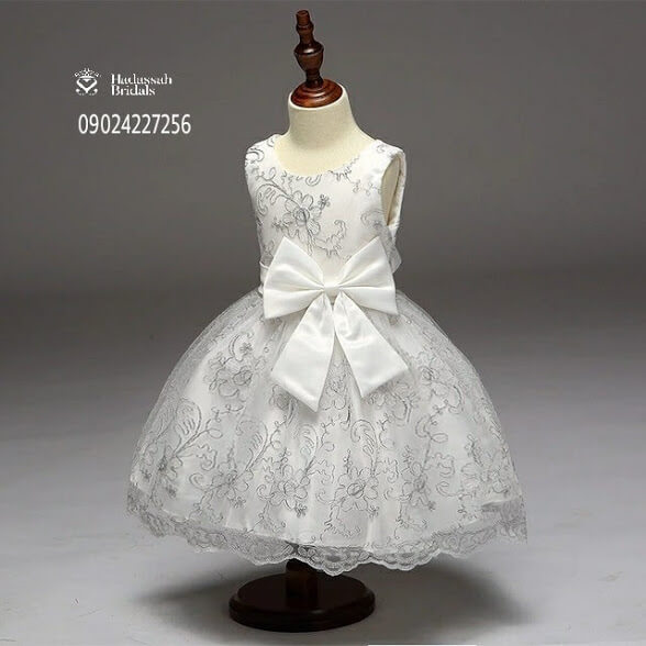 Embroidery Pattern Little Bride\'s Dress | Hadassah Bridal House