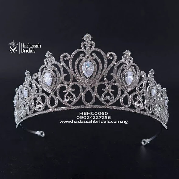 Royal Diadem Crystal Bridal Tiara In Lagos  d8fede890e96