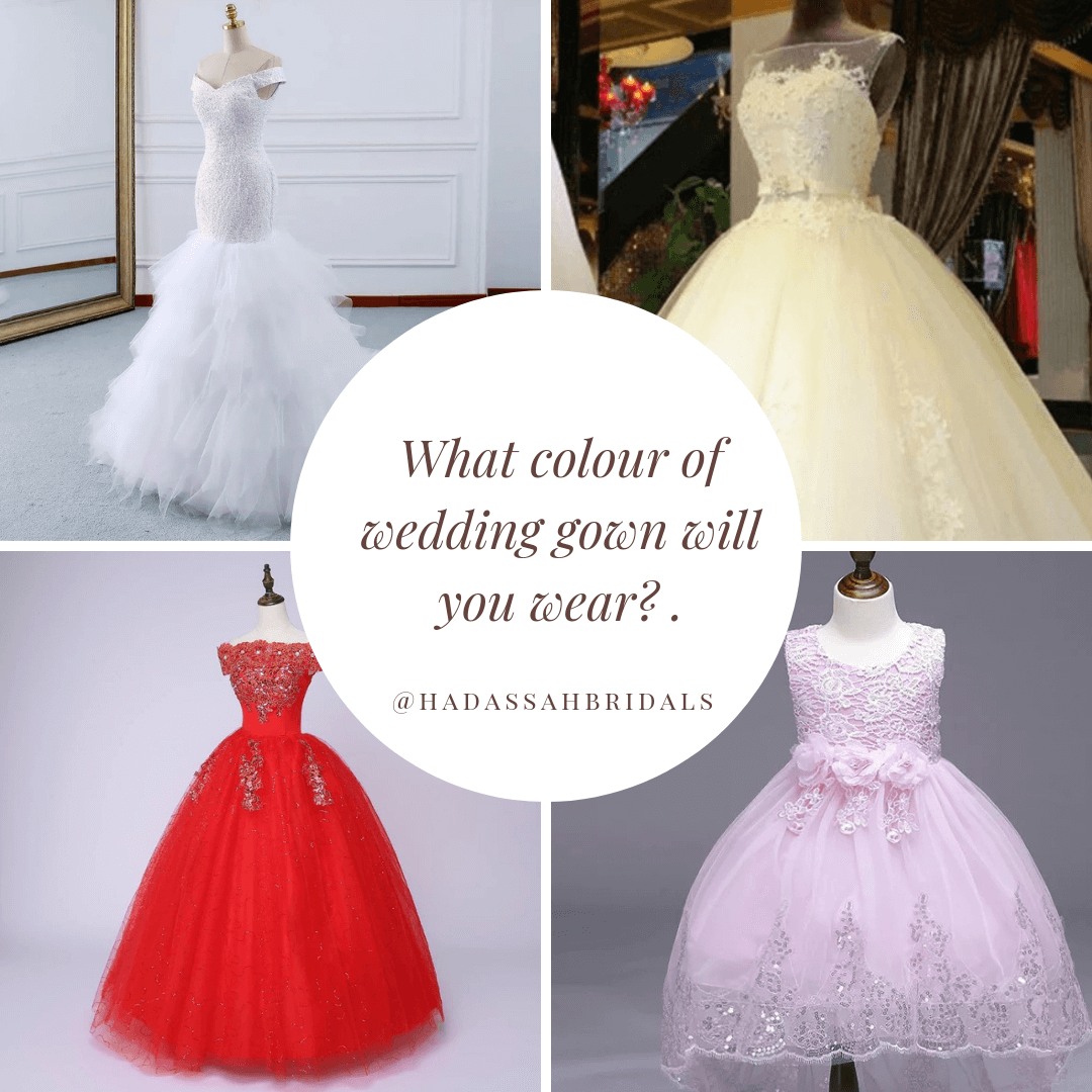 Would You Wear Any Other Color Apart From a White Wedding Dress?