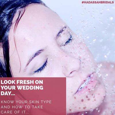 Look fresh on your wedding day