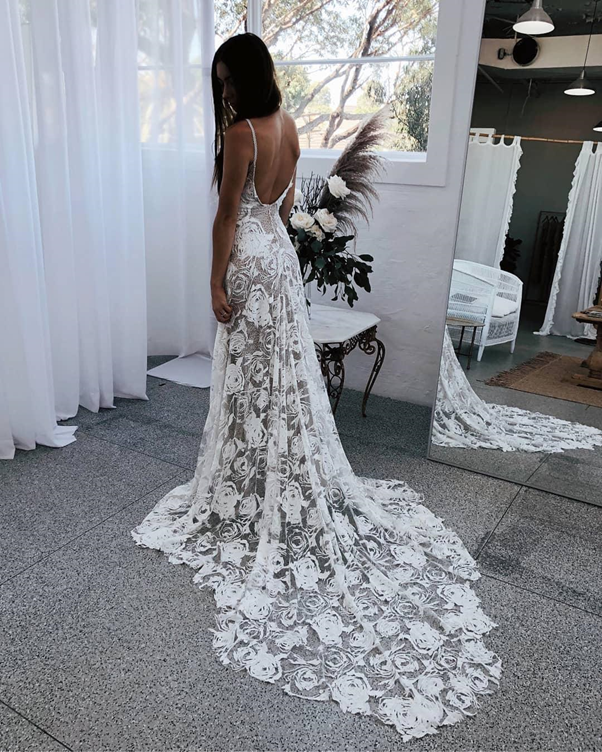 wedding gown styles in Nigeria