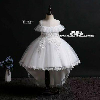 Off-white High Low Little Bride's Dre