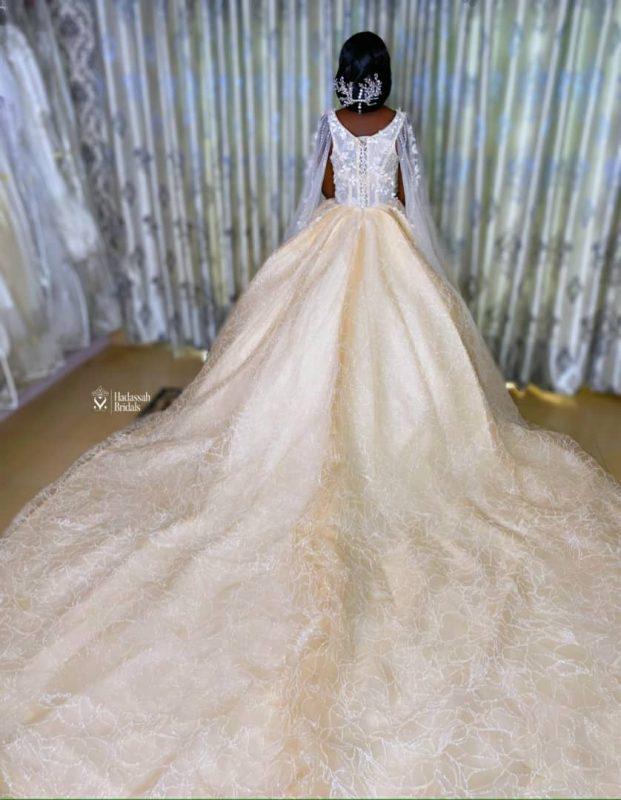 Luxury wedding gown