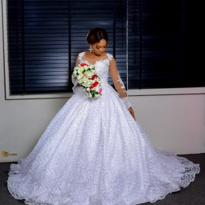 Luxury Ball gown wedding dress