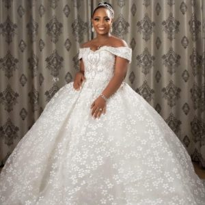 Empire Luxury wedding dress