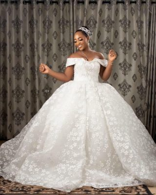Empire Luxury Wedding Dress
