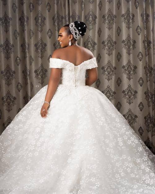 Empire Wedding Gown