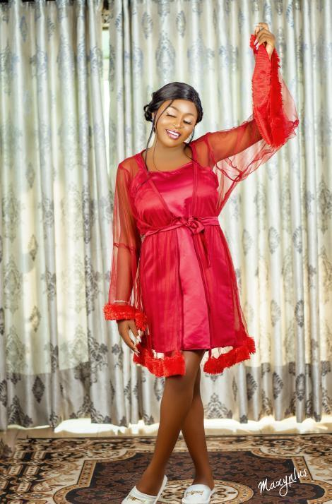 bridal robe in Nigeria