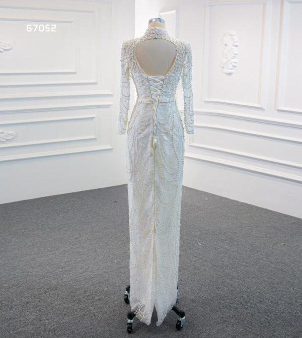 mermaid gown detach