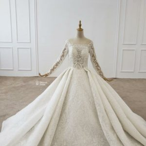 Off Shoulder Luxury Ball Gown
