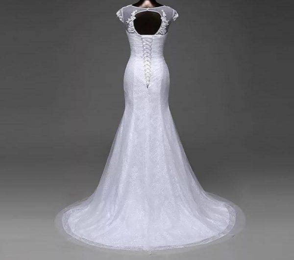 Mermaid Gown Detachable